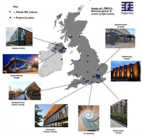 Fabrite Locations